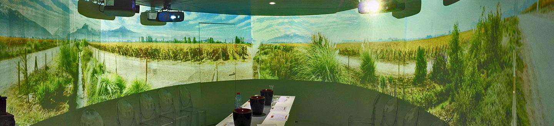 紅酒展覽360投影製作